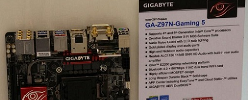 Computex 2014 – Gigabyte muestra su placa base Z97N-Gaming 5