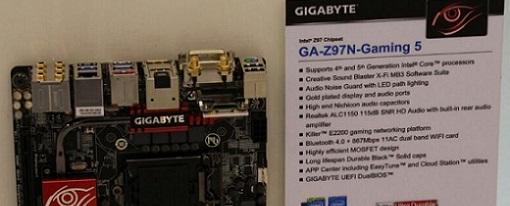 Computex 2014 – Gigabyte muestra su placa base Z97N-Gaming 5
