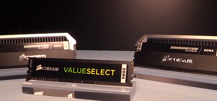 Computex 2014 – Memorias DDR4 Dominator Platinum y Value Select de Corsair