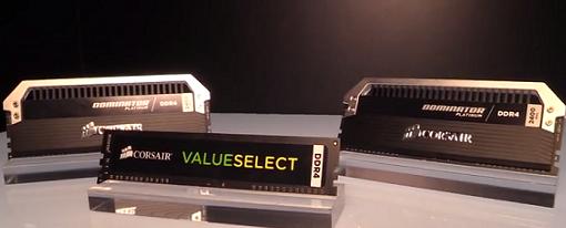 Computex 2014 – Memorias DDR4 Dominator Platinum y Value Select de Corsair
