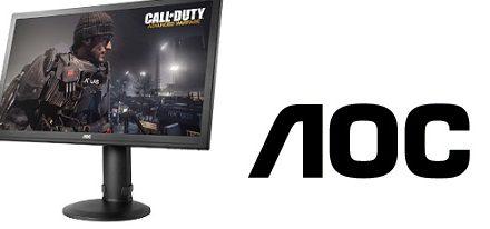 Monitor gaming g2770Pqu de AOC