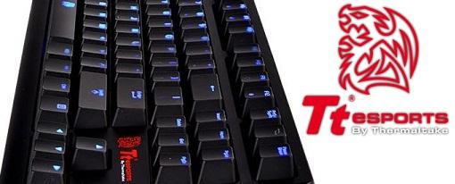 Tt eSports presenta su teclado mecánico para juegos POSEIDON ZX