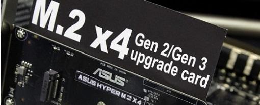 Computex 2014 – Tarjeta adaptadora Hyper M.2 X4 de Asus