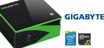 Gigabyte anuncia su kit BRIX Gaming