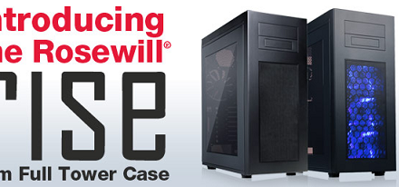 Rosewill anuncia sus chasis RISE