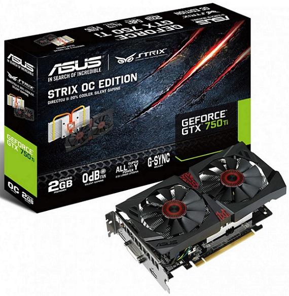GeForce GTX 750 Ti OC Strix de Asus
