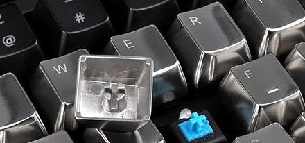 Accesorio para teclados mercánicos METALCAPS de Tt eSPORTS