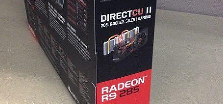 Filtradas unas imágenes de la tarjeta gráfica Radeon R9 285 Strix de Asus