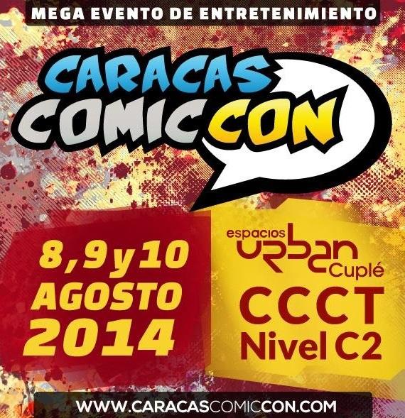 CARACAS COMICCON - AGOSTO 2014