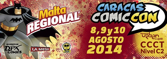 CARACAS COMICCON AGOSTO 2014