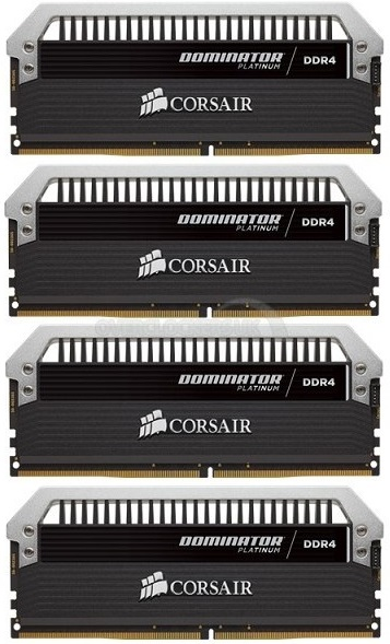 Dominator Platinum DDR4 de Corsair