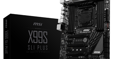 MSI muestra su placa base X99S SLI Plus