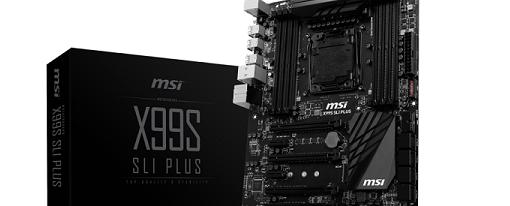 MSI muestra su placa base X99S SLI Plus