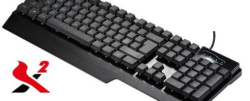 Nuevo teclado para juegos Mirage de X2