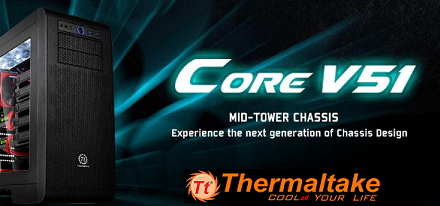 Chasis Core V51 de Thermaltake