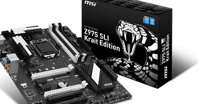 Nueva placa base Z97S SLI Krait Edition de MSI