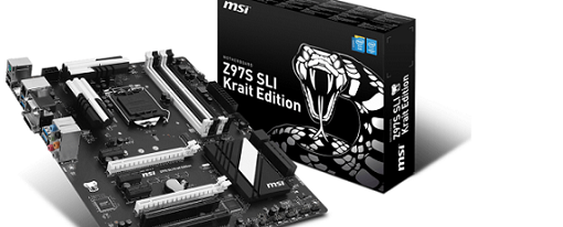 Nueva placa base Z97S SLI Krait Edition de MSI