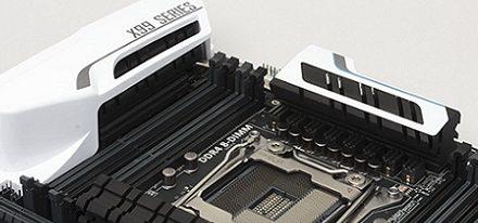 Placas base X99-Deluxe y X99-A de Asus