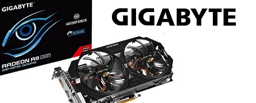 Radeon R9 285 WindForce OC de Gigabyte