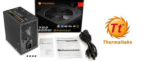 Thermaltake anuncia sus fuentes de alimentación TR2 Bronze de 450W, 500W y 600W