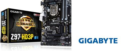 Placa base Z97-HD3P de Gigabyte