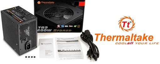 Thermaltake anuncias sus fuentes de poder de la serie TR2 Bronze