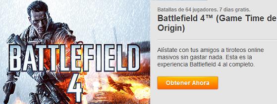 Battlefield 4 Game Time de Origin