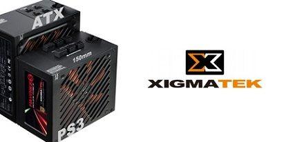 Xigmatek presentó sus fuentes de alimentación Maverick S