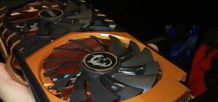 GeForce GTX 970 Gold Edition Dragon Army de MSI