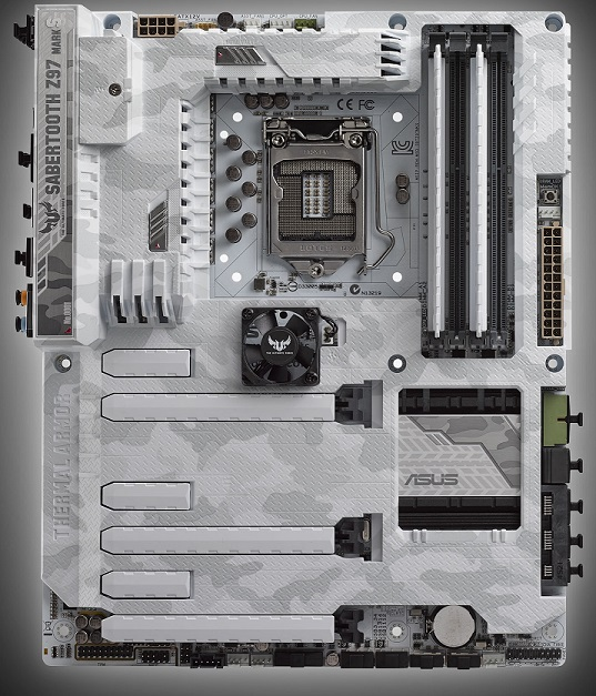 TUF Sabertooth Z97 Mark S de Asus