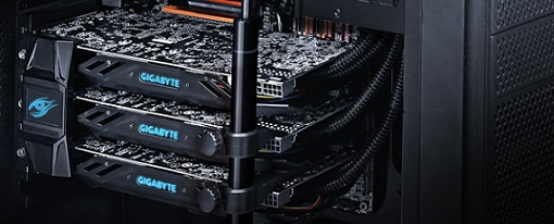 Gigabyte anuncia su sistema GeForce GTX 980 WaterForce Tri-SLI