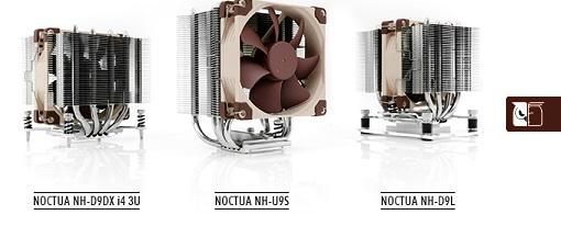 Noctua presentó tres nuevos refrigeradores para CPU
