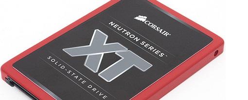 Nuevos SSDs Neutron XT de Corsair