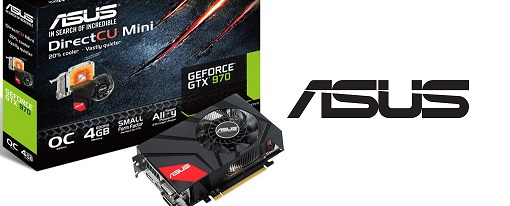 Asus lanza su GeForce GTX 970 DirectCU Mini