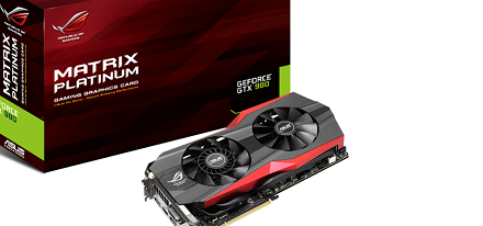 Asus presenta su GeForce GTX 980 ROG Matrix Platinum