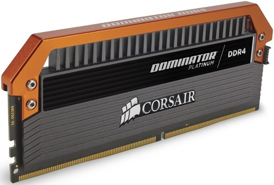 Corsair Dominator Platinum Orange Limited Edition