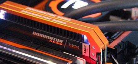 Memorias DDR4 Dominator Platinum Orange Limited Edition de Corsair