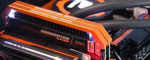 Memorias DDR4 Dominator Platinum Orange Limited Edition de Corsair
