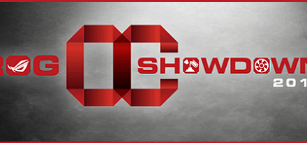 Concurso OC Showdown 2015 de ASUS ROG
