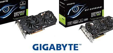 Gigabyte presentó sus tarjetas gráficas GeForce GTX 960 con 4GB de memoria