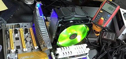 Un procesador Intel Core i7-5775C llega hasta los 5 GHz refrigerado por aire