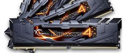 G.Skill anuncia su kit de memorias Ripjaws 4 con frecuencia de 3666 MHz