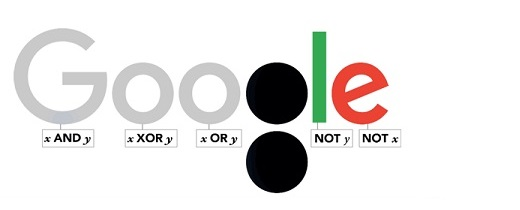 Google homenajea a George Boole con su «doodle»