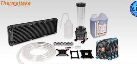 Thermaltake presentó sus kits de refrigeración Pacific R360 D5 en la CES 2016