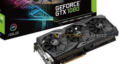 Filtrada una imagen de la ROG STRIX GeForce GTX 1080 de Asus