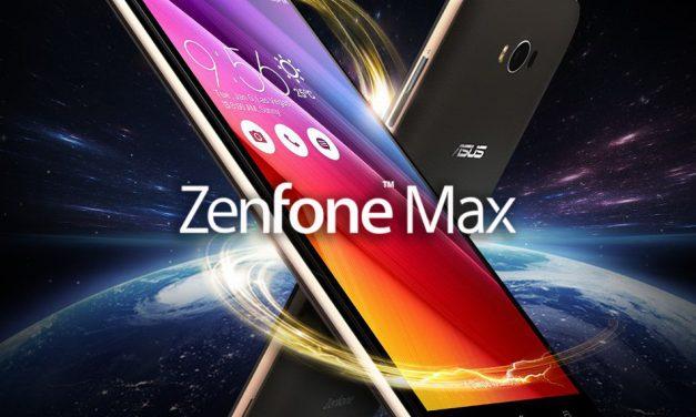 ASUS Lanza Zenfone 4 Max con una potente batería de 5.000mAh