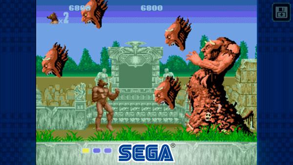 Sega Forever regala juegos para tu Teléfono Altered Beast