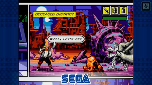 Sega Forever regala juegos para tu Teléfono Comix Zone
