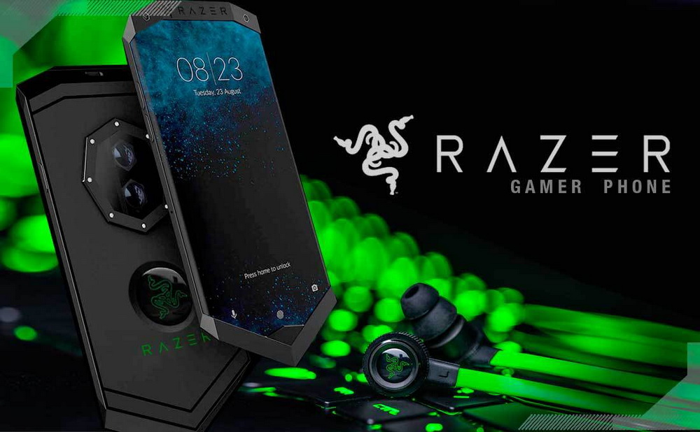 Razer estaría fabricando un teléfono inteligente para Gamers