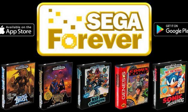 Sega Forever regala juegos para tu teléfono